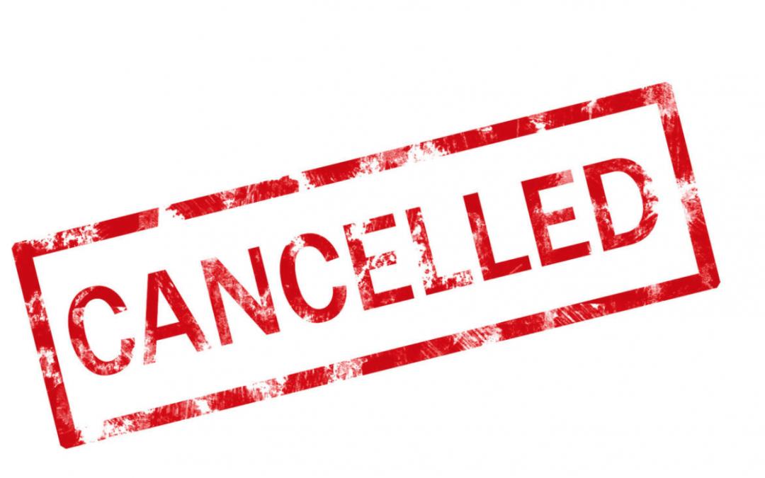 Cancellation of EuroHockey Junior Invitational events