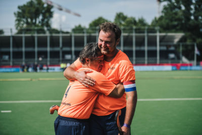 ParaHockey players stepping up on the main pitch of the EuroHockey Championships