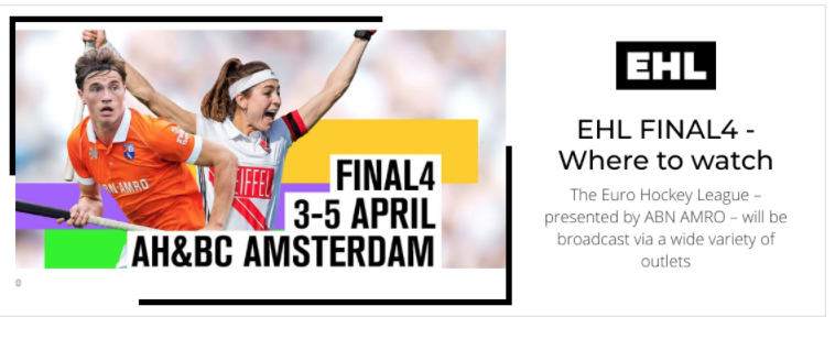 Where to watch the EHL FINAL4
