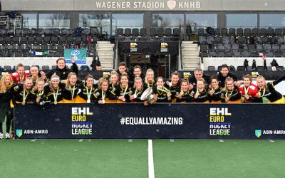 Den Bosch delight as they lift the EHL Cup for the first time!