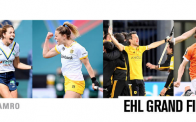 Spanish and Dutch clubs to meet in EHL GRAND FINALS