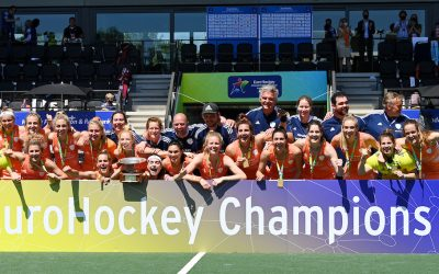 Double Dutch as the Netherlands make it three women's titles in a row