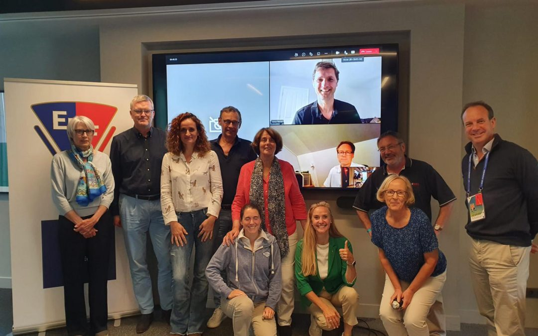 EHF Executive Board meets in Amsterdam